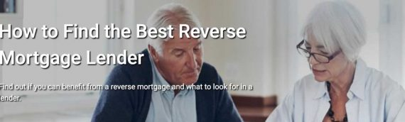 How to Find the Best Reverse Mortgage Lender